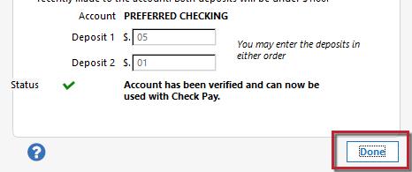Check Pay Setup Final